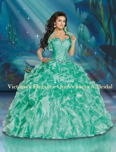 Disney Princess Dress Ariel 41084 – Victoria\'s Elegance Quinceañera ...