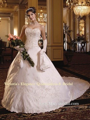 Wedding Dress by P.C. Mary\'s # 5753 – Victoria\'s Elegance ...