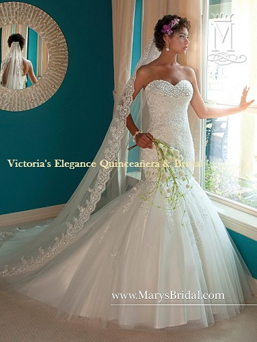 Wedding Dress by P.C. Mary\'s # 6207 – Victoria\'s Elegance ...