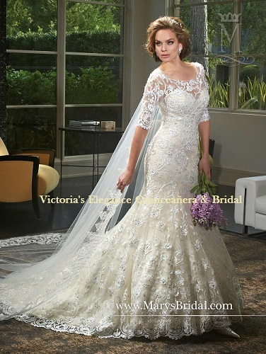 Wedding Dress by P.C. Mary\'s 6403 – Victoria\'s Elegance Quinceañera ...