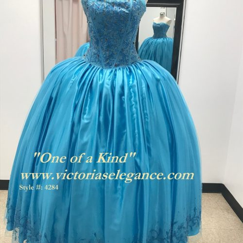 One of a Kind Tulle Ball Gown, Quinceanera Ball Gown, Sweet 16
