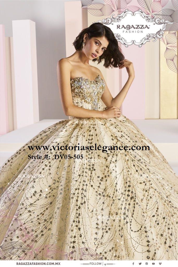 86dc78598 Ragazza Fashion DV05-505 - Victoria's Elegance Quinceañera & Bridal