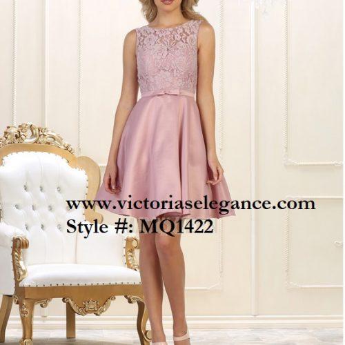 Short Satin Dress, bridesmaid dress, dama's dress, prom gala pageant, sweet 16