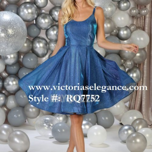 Short blue dress, bridesmaid dress, dama's dress, prom gala pageant, sweet 16